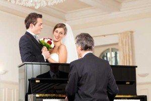 Hochzeitsmusik für Kirche und Standesamt